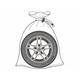 Мешки для колес купить, мешки для хранения колес...
